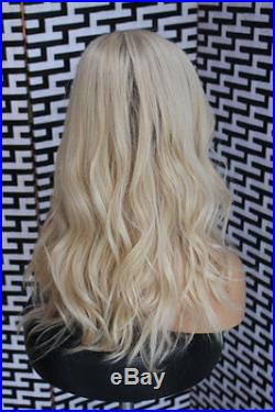 100% Brazilian Human Hair wigs Remy Long Ombre Blonde Lace Front/Full Lace wigs