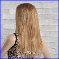 100% Remy indian Human Hair Full Lace Wig Natural Look #27 stock ready to ship
