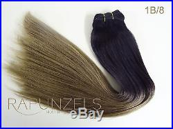 20 Ombre, balayage, dip dye remy hair extensions weft 1ft, 2ft, 3ft, 6ft or 9ft