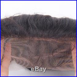 3 Bundles Peruvian Loose Wave with 13X4 Free Part Frontal Closure Ear to Ear