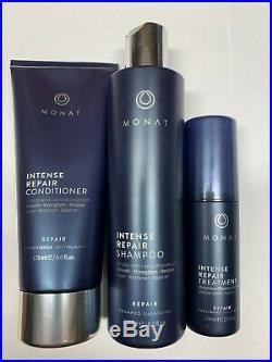 3 IRT Spray Monat Hair Shampoo, Intense Repair Treatment, Conditioner Hair Loss