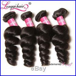 8AMalaysian Loose Wave Hair 1-3 Bundles Wet and Wavy Malaysian Virgin Human Hair