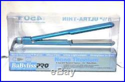 BaByliss Pro Nano 1.5 Titanium Plated Ultra Thin Straightening Flat Iron BNT307