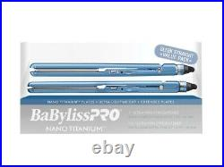 BabylissPro Nano Titanium-Plated Ultra light Promo Pack 1 & 1 1/2 BNTPP35UC