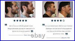 Bartwuchsmittel Mehr Bartwuchs & Bartdichte Premium-Qualität 12 Wochen
