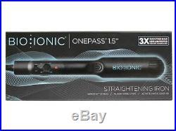 Bio Ionic OnePass Iron 1.5 -NEW IN BOX- FAST SHIPPING