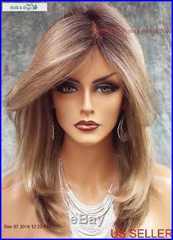 Bobbi Lace Front Monofilament Wig By Envy Wigs Color Sparkling Champagne E599
