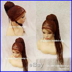 Braided WigReady to ship beautiful Handmade braided ponytail wig. Cornrow wig
