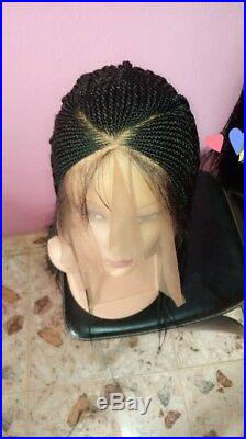 Braided WigV braid cornrows. READY TO SHIP Lace front wig. Location USA, color 1b