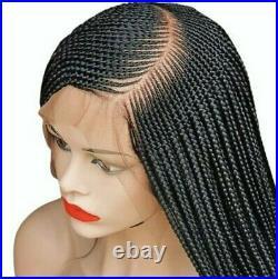 Braided Wigcustom handmade cornrows. Lace front wig. Location USA