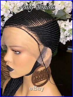 Braided wig Handmade lemonade Braids Cornrows wig. 2weeks