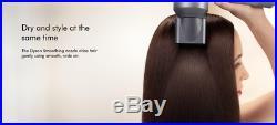 Brand New DYSON Supersonic Hair Dryer Iron & Fuchsia UK Seller UK Version