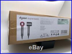 Brand New Dyson Supersonic Hair Dryer Fuchsia Iron