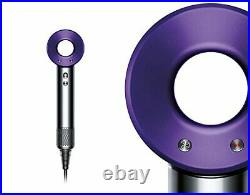Brand New Dyson Supersonic Hairdryer Purple All Attachments & Box UK