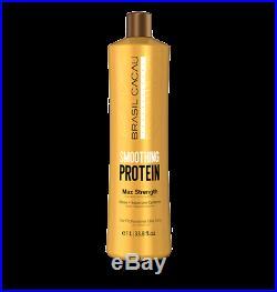 Brasil Cacau Brazilian Smoothing Protein Hair Blow Dry Straightening Treatment