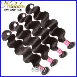Brazilian Curly Virgin Hair 1/3 Bundles Nadula Unprocessed Human Hair Extensions