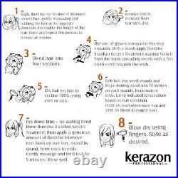 Brazilian Keratin Treatment Complex Blowout Queratina Keratina KERAZON KIT