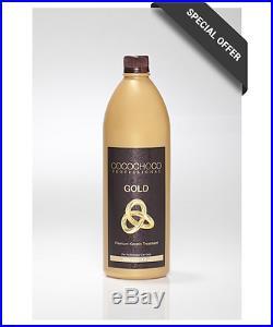 COCOCHOCO Gold 1000ml mit flüssigem 24k Gold neue und verbesserte Rezeptur