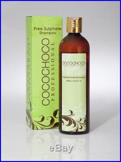 COCOCHOCO Hair straightening keratin Treatment 1L + Free sulphate Shampoo 400ml
