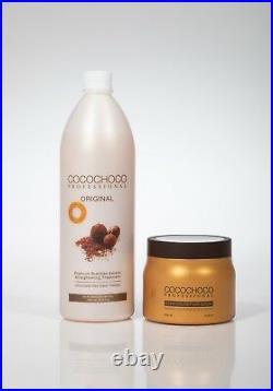 COCOCHOCO Keratin Behandlung ORIGINAL 1000ml Kostenlose Haarmaske 500 ml