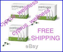 Caída de cabello Pantogar Pantovigar 270 Free Ship cyprus wellness ORIGIN GERMAN