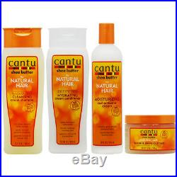 Cantu Cleansing Shampoo+Conditioner+Curl Activator+Define Custard Set/Nail File