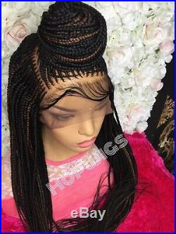 Cornrow braided Wig (pre-order takes 4 Working days to make)