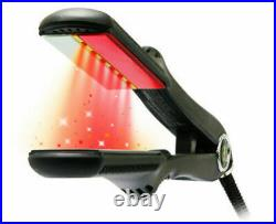 Croc TurboIon Infrared Digital Ceramic Flat Hair Iron Straightener 1.5 1-1/2