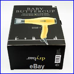 Drybar Baby Buttercup Travel Blow Dryer Dual Voltage