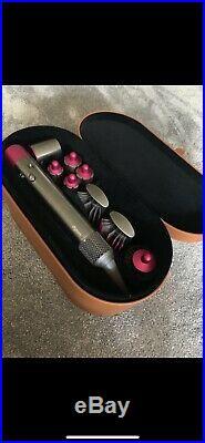 Dyson Airwrap Complete Multi Hair Styler (Nickel/Fucshia)