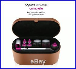 Dyson Airwrap Styler Complete Nickel Fuchsia Hair Styling Set 6 Attachments