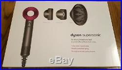 Dyson Supersonic Hair Dryer Iron/Fuchsia BRAND NEW NIB