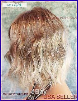 Evanna Wig Rene of Paris Lace Front Partial Mono ICED BLOND NEW COLOR AUTHENTIC