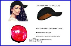 FDA Cleared Cosmo 272 Laser Diodes Helmet With Cap Hair ReGrowth Treatment 650nm