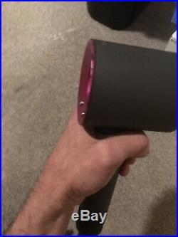 GENUINE DYSON SUPERSONIC HD01 Hair Dryer 1600 WATTS Iron / Fuchsia F2