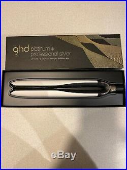 GHD Platinum + Plus Hair Straighteners White Professional Styler Flat Iron