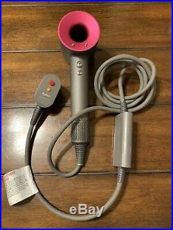 Genuine Authentic Dyson Supersonic Hair Dryer HD01 Fuchsia Pink 1600W