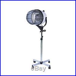 HOMCOM Professional Hair Dryer Hood Portable Salon Hairdresser Floor New Stand