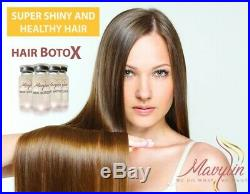 Hair Botox Treatment Concentrated Vitamin-Rich FORMALDEHYDE FREE CAPILAR X4