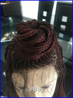Handmade braided wig colour 1b 30 33 cornrows million braid