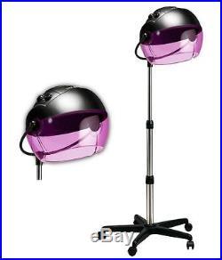 Hot Tools 1059 Portable Rolling Salon Hair Dryer Tourmaline Ionic Bonnet Hood