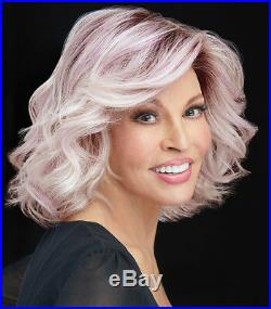 IF YOU DARE Wig by RAQUEL WELCH, Iced Lavender, Tru2Life, Lace Front, Mono Part