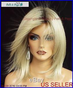 Jackson Noriko Wig Blond Medium Length Stunning Seductive Style Champagne 519