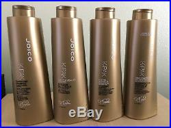 Joico K Pak Clarifying Shampoo, Cuticle Sealer, Hydrator, Deep Reconstructor Set