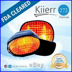 Kiierr272Premier Laser Cap Laser Hair Regrowth Cap FDA Cleared (Women & Men)