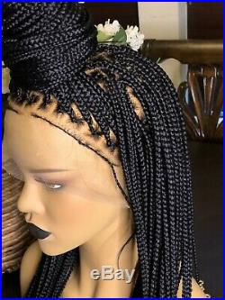 Knotless unit! Hand braided full lace wig. Pre order 1-2weeks