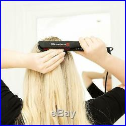 MONDAVA PROFESSIONAL Ceramic Tourmaline Flat Iron Hair Straightener and Curler