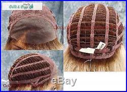 Mackenzie Lace Front Part Designer Wig ELEGANT SHARP ROOTED BLONDE RH1488RT8