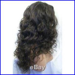 Malaysia Curly indian remy human hair full lace wigs /lace front wigs 8-22