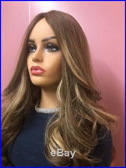 Malky European Multidirectional Hair 22 Wig 8-16-24 Dirty Blonde/Highlights